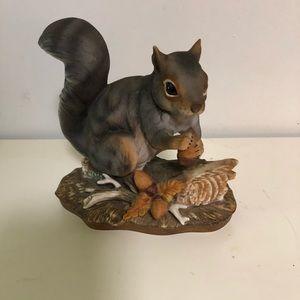 Porcelain squirrels